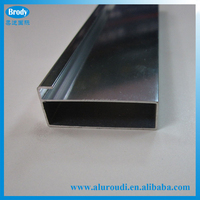 Cheap Price Wardrobe Kitchen Cabinet Door Edge Aluminum Profile
