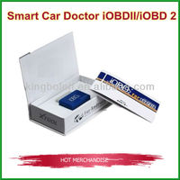 New iOBD2 OBD2 EOBD Car Diagnostic Tool Auto Code Reader Car Doctor work on Android phone by bluetooth