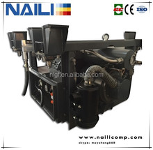 NAILI Rotary Vane air compressor is in the Rail milling train grinding equipment
