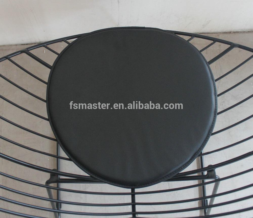 Staal schilderij bladvormige wire lounge stoel salonzetel metalen ...