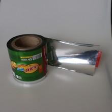 custom plastic bag for cookies packaging/ aluminum foil food film roll