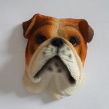 Resin Bulldog Fridge Magnet