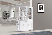 modern white mini wine bar cabinet