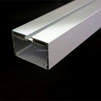 U type Extruded Aluminum LED Profile/6063 t5 aluminum extruded profiles