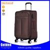 import china goods 1680d trolley luggage fashion luggage set soft travel luggage