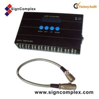 good quality built-in SD card led controller with remote