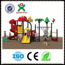2013 última zona de juegos virtual de diseño para el preescolar/reproducir terrenos/equipo de juego/juego al aire libre QX-11201