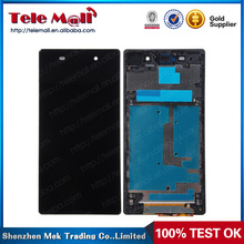 ibaba wholesale full lcd touch screen digitizer for sony xperia z1 l39h with good price