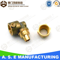 cnc machining brass worm gear brass cnc blocks