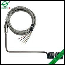 Spring heating ring external build in K type thermocouple Hot Runner Coil Heater