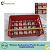 2015 popular various sizes plastic milk crate for wheels suzhou logistics China