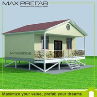 Comfortable Ready made Prefabricated holiday wooden homes