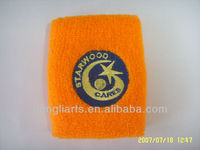JWD021 Embroideried Terry Cotton Wristband/Sweatband