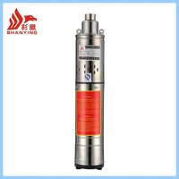 QGD stainless steel 2 inches submersible well pump for deep well submersible pump and electric submersible water pump