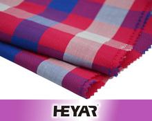 China Manufacrurer 100% Cotton Yarn Dyed Dobby Fabric and Textile