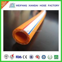 PVC high pressure spray hose braided hose power sprayer hose W.P. 900psi
