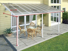 Polycarbonate Roof Gazebo,Aluminum Pergola For Sale