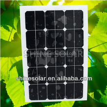 18W to 300W flexible solar panel with ISO,TUV,UL,CE&CSA SN-H45W