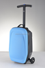 2015 hot selling colorful plastic trolley bag scooter