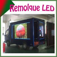 Sunrise HD video led, movil camion un lado de pantalla de leds, para gran eventos, y publicidades