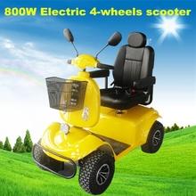 800 W de scooter motorizada carro scooter elétrico para pessoas com deficiência