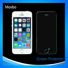 Wholesale full screen cover 3d curved tempered glass screen protector for iphone 5s