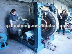 2014 new style automatic tyre buffing machine/OTR tyre retreading machine tyre recycle plant/tyre repairing machine