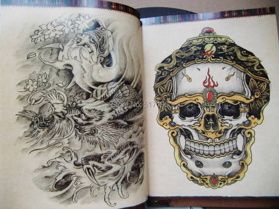 Wholesale new the oriental style tattoo flash sketch book for Tattoo reference books
