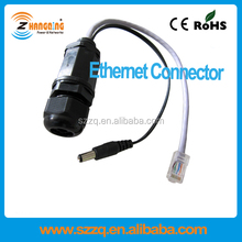 Ethernet cable IP67 class waterproof shielded RJ45 connector ZCWPRJ007