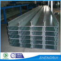 Perforated Unistrut Channel / Slotted Strut Channel / C Channel steel