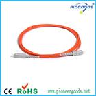 SC 5passospolidos Dupont kevlar multimodo fibraópticacabopatch