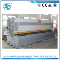 qc11y aluminum sheet guillotine cutter specification for manufacturing door plate