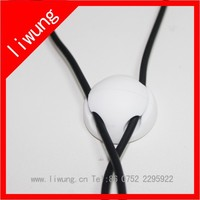 Colorful Desktop Plastic Silicone Cable Wire Organizer / Cable holder /Cable Ties Holder