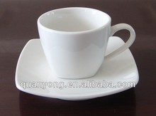 SQUARE COFFEE CUP&SAUCER