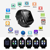 2015 Hot Selling With Bluetooth FM Radio Android Smart Watch Phone