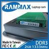 lowest price warranty laptop RAM DDR3 2GB 1333MHz / 2gb 4gb 8gb 400 667 800 1333 1600mhz ddr1 ddr2 ddr3 module pc desktop