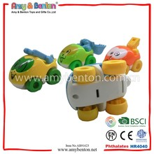 4Style Mixed Packing Colorful Mini Friction Cartoon Car For Kid