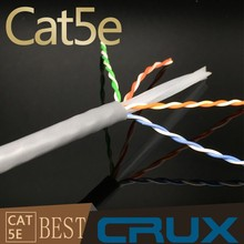 HDPE Insulation Cat5e Lan Cable RoHS CE ISO Standard Cable Cat5e