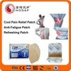 New product cooling back pain relief patches