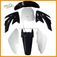 BLACK 70 110cc 125cc 140cc 150cc 160cc PITBIKES PIT DIRT BIKE CRF FAIRINGS PLASTICS BODY CRF70 CRF