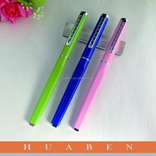Colorful cadeau d'entreprise stylo cadeau d'entreprise, Haute qualité stylo en métal promotionnel