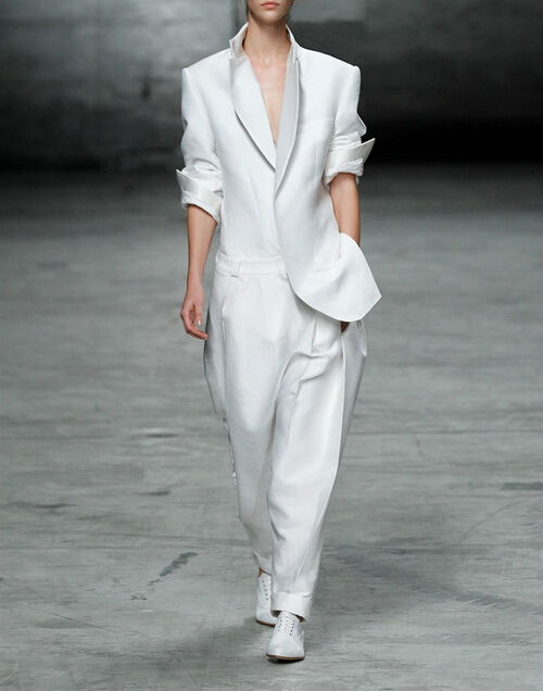 Ladies Stylish Pant Suit Business White Formal Pant Suits View Ladies Stylish Pant Suit Fordex ...
