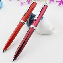 First Y218 Corporate Gift Good Quality Twistable Red Metal Ball Pen
