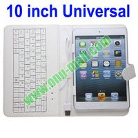 Good Quality Universal 10.1 Tablet Leather Case with Keyboard