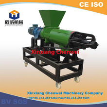 CW Brand Solid Liquid Separator for chicken manure, pig dung, biogas residue dewater equipment