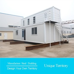 portable and rapid cars 3d panel prefabricated container villa