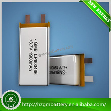3.7v Good quality mini Rechargeable battery