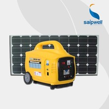 Portable Good Quality Widely Used Suit For All Different Socket 500w Solar Genrator Yellow Colour