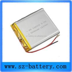 3.7v 5000mAh Solar Panel Charger Mobile Phone Power Bank Backup Battery