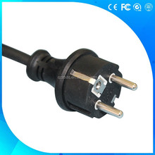 3 pin Europe VDE waterproof electrical plug